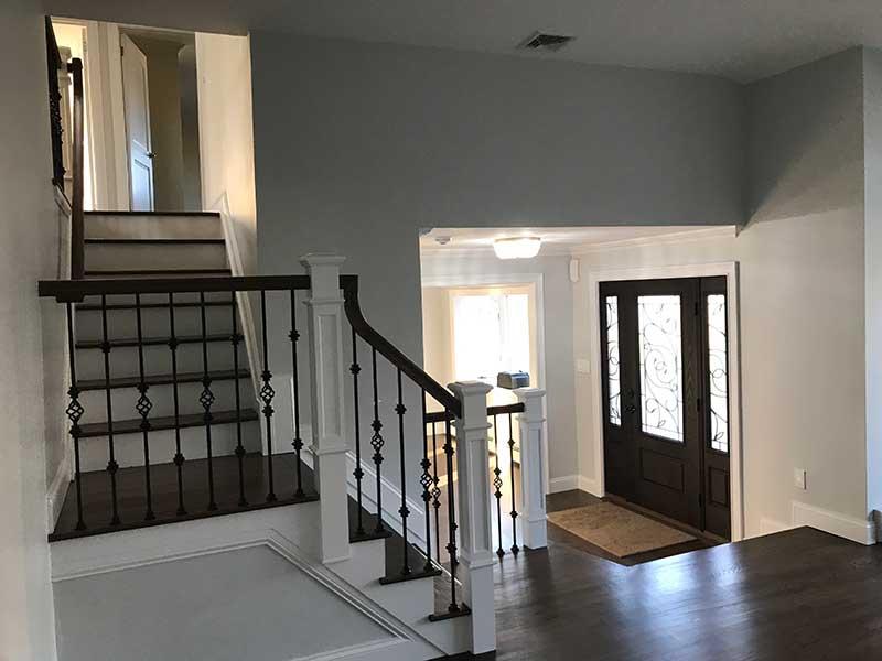 stairwell split renovated